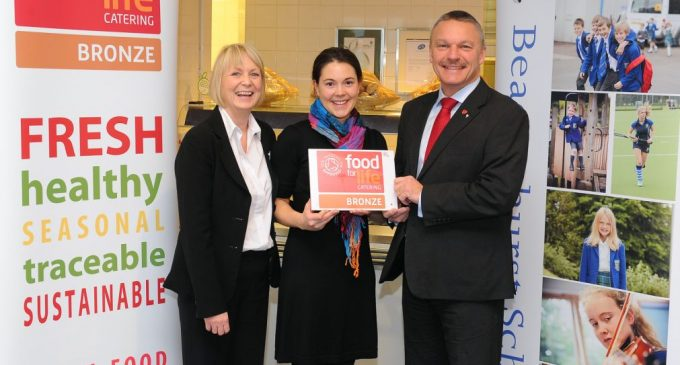 Sodexo Contract Awarded Bronze Food for Life Accolade