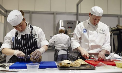 Scottish College Placed Third in National Student Chef Competition