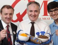 Industry Celebrates Launch of New 'Scotch' Haggis at Highland Show