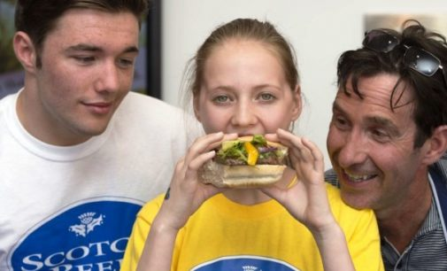 Falkirk Pupil's Fiery Dish Wins Commonwealth Burger Challenge