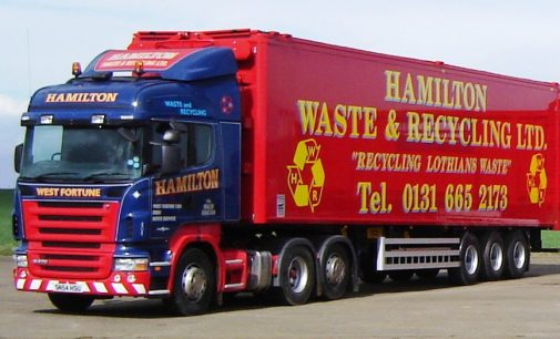 Lothians Waste Firm Boosts Customer Service Credentials