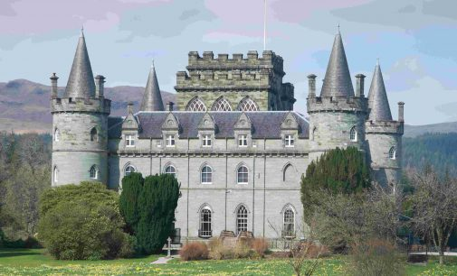 QED Provides Continental-Style Makeover For Inveraray Castle Tearoom