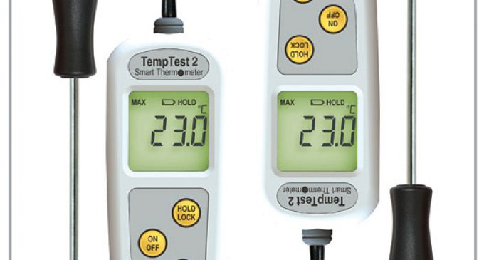 ETI Launches New TempTest® 2 Food Thermometer