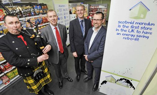 Scotmid unveils new energy saving store in ground-breaking retrofit