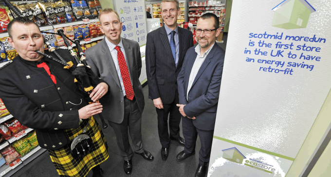 Scotmid unveils new energy saving store in ground-breaking retrofit
