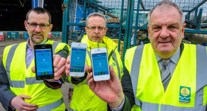 FlyMapper System Launched in Glasgow To Tackle Fly-tipping Blackspots