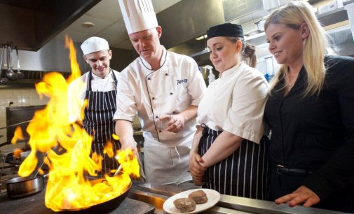 HIT Hospitality Apprentices Enjoy Epicurean Fundraising Experience