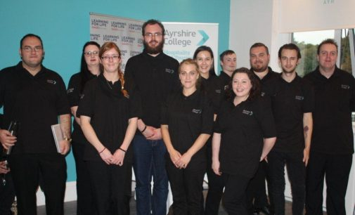 Ayrshire College Delivers Fifth Successful Hospitality & Bartending Programme