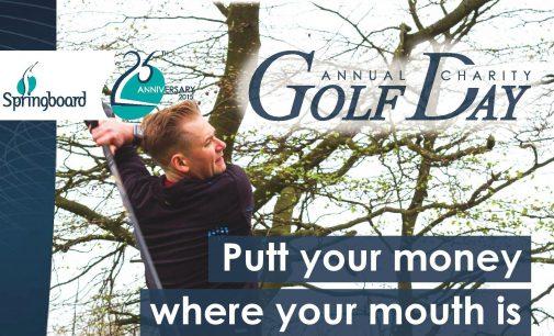 Springboard Scotland Announces 2016 Golf Competition Date