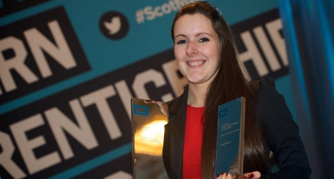 Scottish Hospitality Star Named Modern Apprentice of the Year