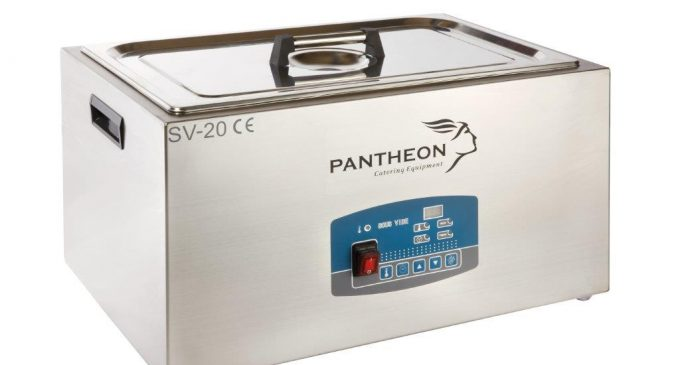 Pantheon Launches New Sous Vide Water Baths & Vacuum Packing Machines