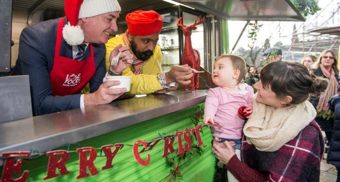 Chef Singh Advises A Rethink Over Festive Food Waste