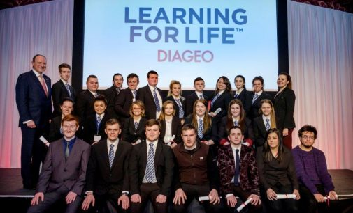 HIT Scotland Award Hospitality Graduates at Emerging Talent Conference