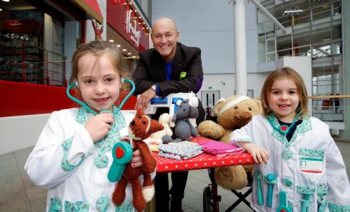 Glasgow Teddy Bear Hospital Welcomes 'Patients' During Pass It On Week