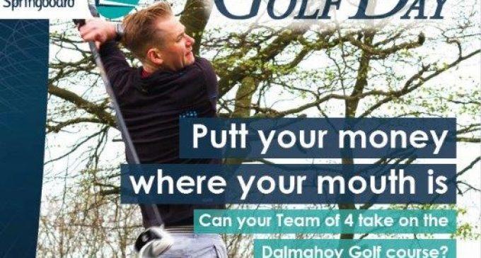 Springboard Seeking Final Few Teams for Scottish Golf Day