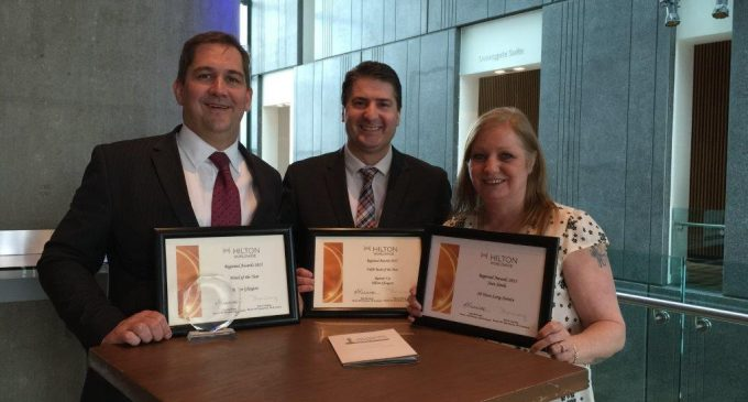 Hilton Glasgow Awarded Hotel of the Year Status in Internal Awards Progamme