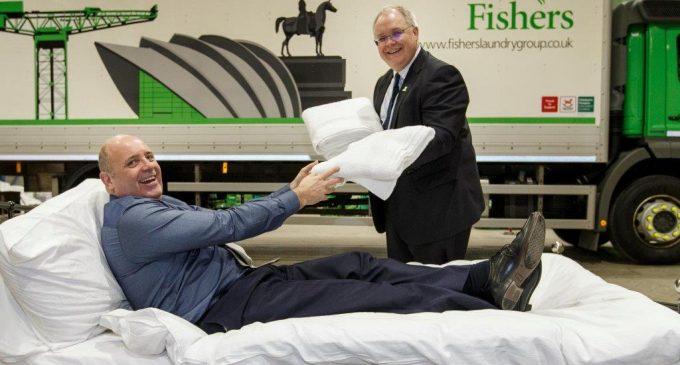 Fishers Opens Scottish Super-Laundry at Coatbridge