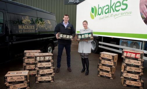 Mackies Crisps Joins Forces with Brakes Scotland to Help Grow Scottish Market