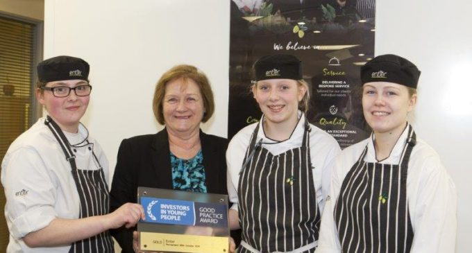 Aberdeen Caterer Awarded IIYP Accreditation