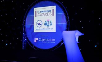 The Winners of the CIS Excellence Awards 2016, in partnership with Caterer.com