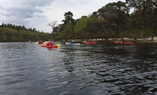 Bidvest Scotland Team Take on Loch Ness – in a Kayak