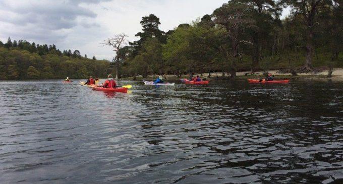 Bidvest Scotland Team Take on Loch Ness – in a Kayak