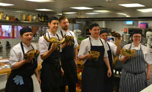 BaxterStorey Scotland Teaches Fish Skills to Star Chefs