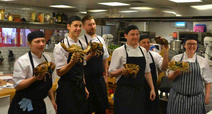 BaxterStorey Scotland Teaches Fish Skills to Star Chefs