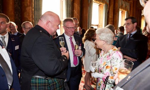 North-East Caterer Recognised by Royalty at Buckingham Palace