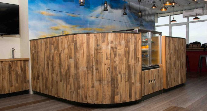 QED Supplies Modular Kitchen and Coffee Shop for Company's European HQ
