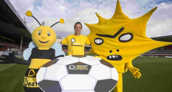 Beatson Cancer Charity Scores with Partick Thistle FC partnership
