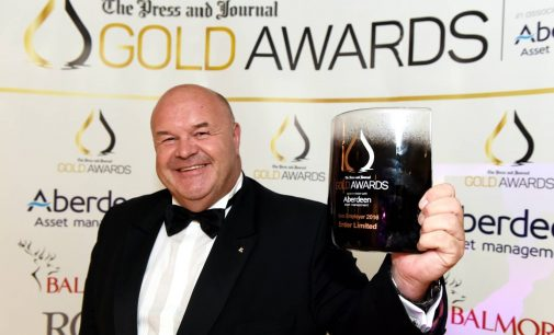 Aberdeen Contract Caterer Recognised at P&J Gold Awards