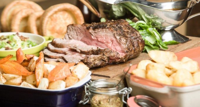 Edinburgh Pub Serves Best Roast in Scotland
