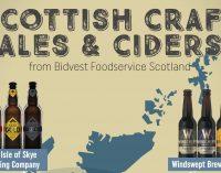 Bidvest Scotland Grows Scottish Range Through Local Craft Ales