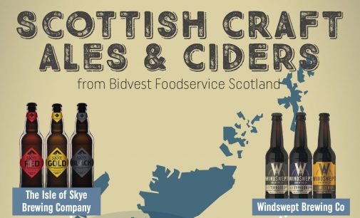 Bidvest Scotland Grows Scottish Range Through Local Craft Ales