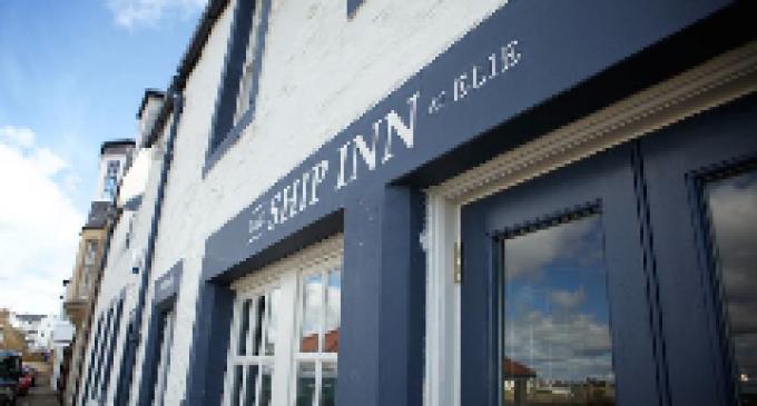 Ship Inn Elie Wins ScottishAA Pub of the Year 2016