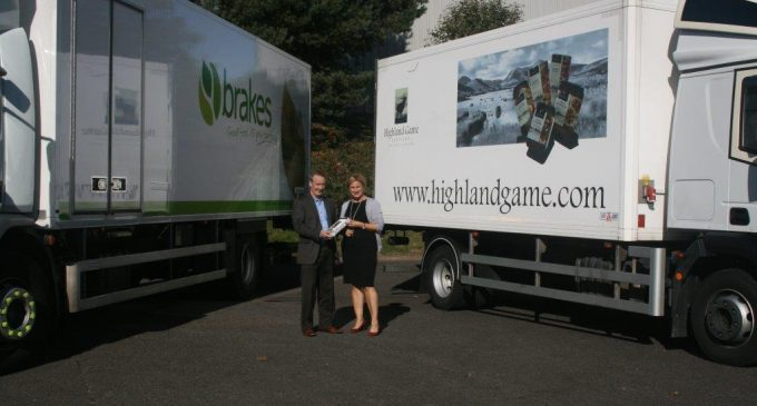 Brakes Scotland Signs Distribution Agreement with Scottish Venison Producer