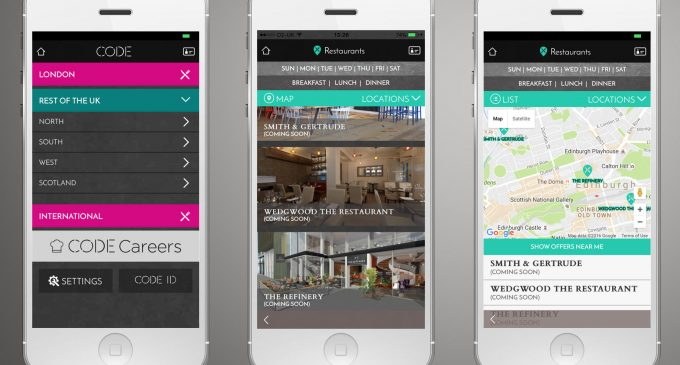 CODE Hospitality App Launches in Scotland
