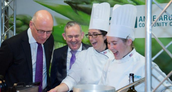 City of Glasgow College Go Head-to-Head in Cook-Off at Grand Opening