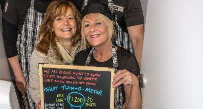 Tyndrum Café Fundraises and Twins Toilets With Malawian Charity