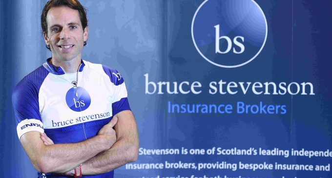 Bruce Stevenson Insurance Teams Up With Record-Breaking Cyclist