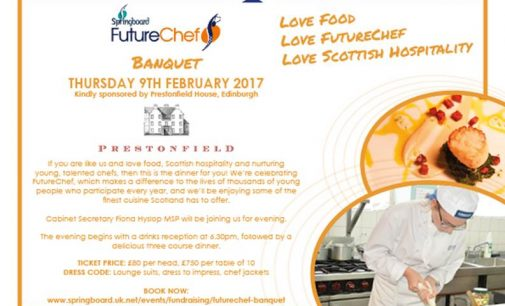 Springboard's Inaugural FutureChef Banquet Planned For February 2017