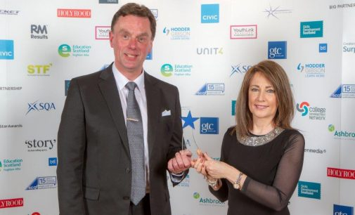 Perth College UHI Collect New Innovation Award