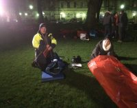 Bidvest Foodservice Scotland Managers Sleep Out for Social Bite