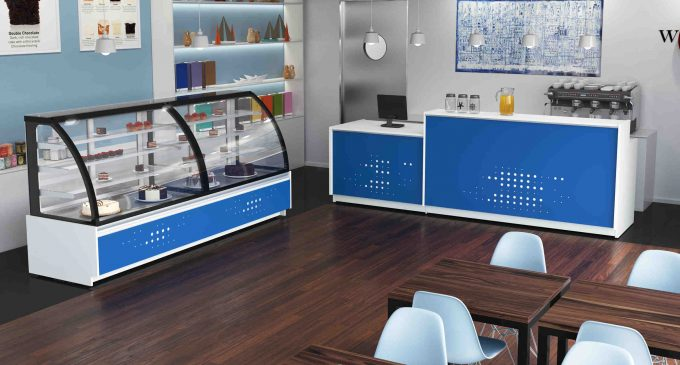 QED Launches New Coffee Shop Display Systems at ScotHot 2017