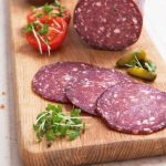 ScotHot 4 Great Glen Charcuterie _Catering packs of sliced Wild Venison Salami