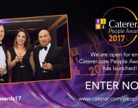 Entries Have Opened for the 2017 Caterer.com People Awards