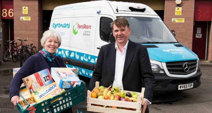 Bruce Stevenson Insurance Brokers Appoint FareShare Scotland
