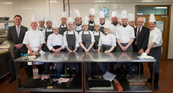 Perth College Students Stun Audience of VIPs at Special Dinner Event