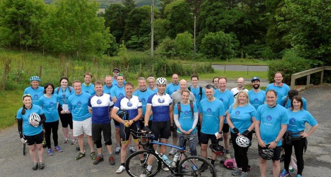 Bruce Stevenson Insurance Charity Cycle Raises Cash for FareShare